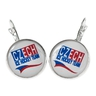Earrings with logo Czech Ice Hockey Team large