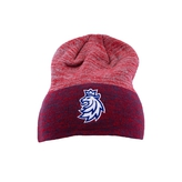Beanie CCM red toned lion logo CH