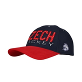 Cap CCM blue-red with the logo of CH on side