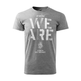 T-shirt for men CCM grey WE ARE CH