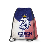 Gymsack Czech Hockey logo and flag