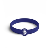 Silicon bracelet with logo Czech lion