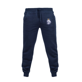 Navy sweatpants with logo Czech hockey
