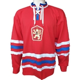 Red retro jersey ČSSR