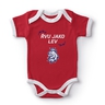 Body baby red with the printed logo
