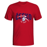 T-shirt for men Česko do toho lion CH