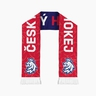 Scarf Cesky hokej subli doublesided blue-red