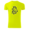 T-shirt for men with neon logo CH