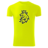 T-shirt for kids with neon logo CH