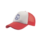 Cap trucker with the official lion logo Czech Hockey red