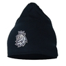Beanie light flash navy with logo lion