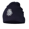Light beanie for kids navy logo lion