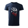 T-shirt for kids inscription Czech hockey in helmet CH