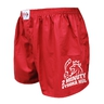 Men's shorts Styx red high sticks