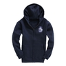 Kids' hoodie W88K navy with stitched logo CH