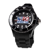 Black silicon watch Czech Ice Hockey Team