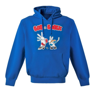 Children's blue sweatshirt Bob and Bobek