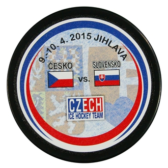 Puck out of the match CZE - Slovakia