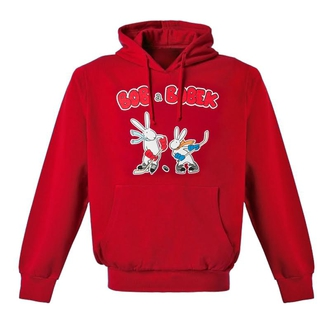 Children's red sweatshirt Bob and Bobek