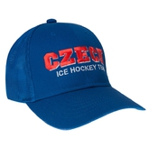 Blue cap Mesh Czech Ice Hockey Team