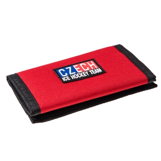 Red wallet Czech Ice Hockey Team
