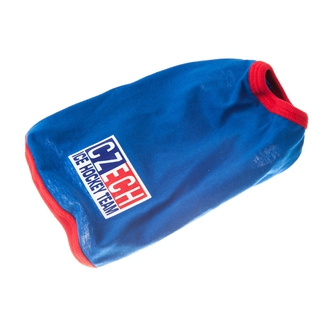 Blue shirt for dog Czech Ice Hockey Team