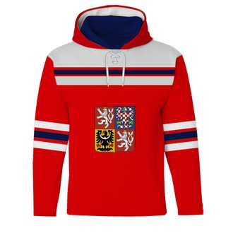 Red Sublimated Sweatshirt Jersey