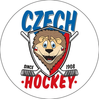 Sticker with mascot