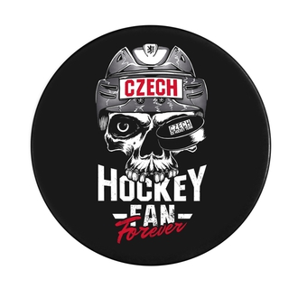Puck Czech Hockey Fan Forever