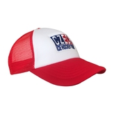 Cup trucker white-red CIHT - adult 1+1