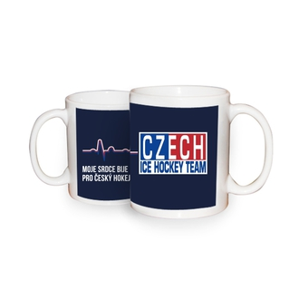 "Mug ""My heart beats for Czech Hockey"""