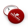 Red button with logo Hlinka cup