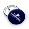 Blue button with logo Hlinka cup