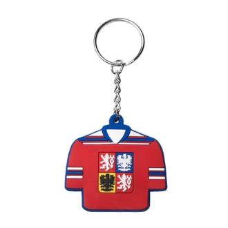 Keychain in the shape of jersey
