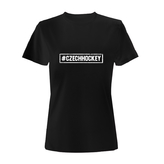 Women´s T-shirt hashtag CZECHHOCKEY
