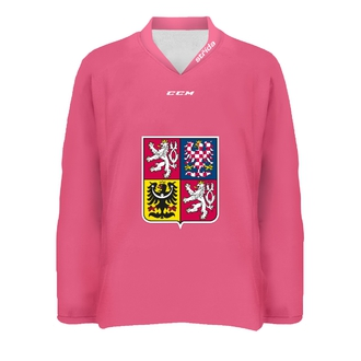 Pink girlie fan jersey CIHT