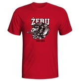 Child T-Shirt Žeru český hokej Lion CIHT red