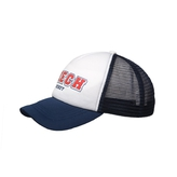 Kids Cap Trucker Navy-White Czech Hockey