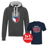 Men´s hoodie Golden Years Czech Hockey
