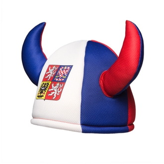 Cheering hat with horns