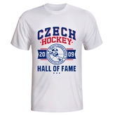 Men´s T-Shirt with logo Hall of Fame white