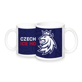Mug logo lion Czech ice hockey - navy
