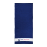 Towel logo lion Czech ice hockey - navy
