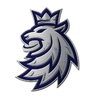 Badge logo lion Czech ice hockey