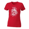 Women´s T-Shirt with Czech ice hockey lion logo