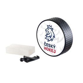Car perfume puck Czech Hockey lion logo