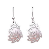 Earrings logo Lion CH