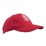 Kid's cap basic logo lion Czech Hockey - red