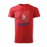 Men's T-shirt Czech Ice Hockey tricolor
